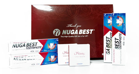 Зубная паста NUGA BEST (Нуга Бест)